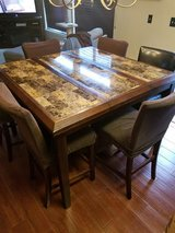 7 Piece Counter Height Dining Set in Chicago, Illinois