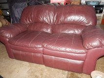 Leather Reclining Loveseat in Chicago, Illinois