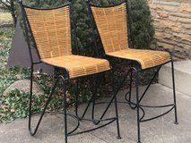 2 Iron & Reed Bar Stools in Aurora, Illinois