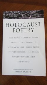 Holocaust Poetry in Plainfield, Illinois