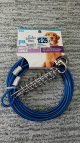 Pawtown Blue 20' Tie-Out Cable in Chicago, Illinois