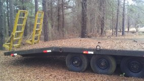 24ft 10 TON Pintle Hitch Trailor in Byron, Georgia