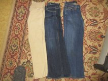 LOT OF 3 JEANS LEVI 524 NO BOUNDERIES AMERICAN EAGLE OUTFITTERS 28-30 x 25 in 29 Palms, California