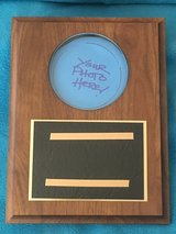 Walnut Photo Award Plaques in Bolingbrook, Illinois