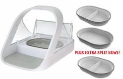 SureFeed Microchip Pet Feeder with EXTRA SPLIT BOWL in Bartlett, Illinois