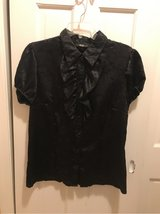 Ladies AGB Large Black Blouse in Fort Belvoir, Virginia