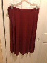 Ladies Josephine Chaus XL Rust Skirt in Fort Belvoir, Virginia