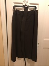 Ladies Luciano Dante Size 14 Brown Skirt with Belt in Fort Belvoir, Virginia