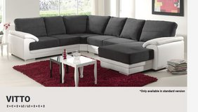 United Furniture - Vito Sectional with Chaise- Chaise also on opposite side - Two Tone or Solid ... in Stuttgart, GE