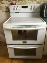 Frigidaire ceramic top double oven electrical range in Bolingbrook, Illinois