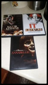 Stephen Kings IT,  The Conjuring ANNABELLE & KILLER CLOWNS From Outer Spece in Westmont, Illinois