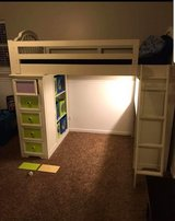 Build a Bear White Twin Loft Bed - Changes colors! in Bolingbrook, Illinois