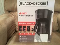 Black + Decker 4 in 1 Coffee station - NIB in Naperville, Illinois