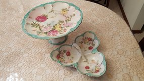 Vintage Cake Plate and Candy Dish in Glendale Heights, Illinois