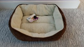 Pawtown Small Brown Pet Bed in Oswego, Illinois