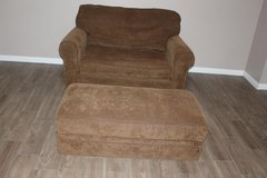 Single Sleeper Chair Bed & Storage Ottoman in Spring, Texas