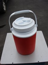 RED / WHITE ONE GALLON INSULATED COLLER in Aurora, Illinois