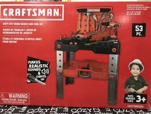 Craftsman Kids Toy Workbench and Tool Set - Brand New (still in box) in Leesville, Louisiana