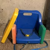 Booster seat in Oswego, Illinois