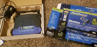 wireless-G 2.4 Linksys Router in Byron, Georgia