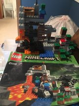 Lego Minecraft The cave in Plainfield, Illinois