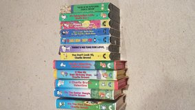 Peanuts VHS collection in Houston, Texas