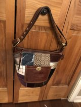 Coach Bleecker Leather Patchwork Convertible Shoulder Handbag Purse in Naperville, Illinois