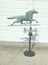 Copper Horse Weathervane / Stand ~ Antique in Aurora, Illinois