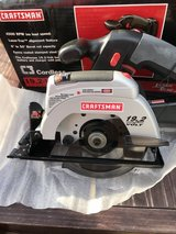 Craftsman 19.2 volt trim saw w/blade (new, never used (tool only, as shown on the box)) in Okinawa, Japan