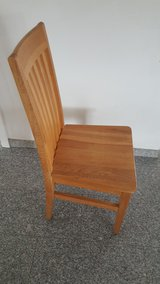 DINING OAK chairs (4 in total) in Ramstein, Germany