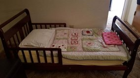 Toddler Bed and Organic Mattress in 29 Palms, California