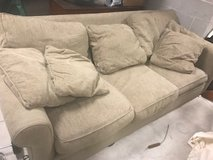 Crate and Barrel Large sofa COMFY in Bartlett, Illinois