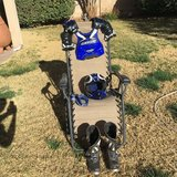 DirtBike - Helmet - Goggles - Chest Protector - Boots - Used !!! in Alamogordo, New Mexico