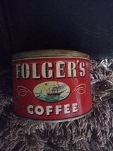 '40's & 50's coffee cans in Kingwood, Texas
