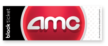 AMC Black Ticket Movie Passes [Replaced Gold & Silver Passes] in Los Angeles, California