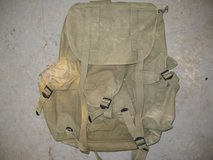 MILITARY CANVAS RUCKSACK WWII OR KOREA in Alamogordo, New Mexico