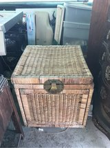 Wicker box whatever you want to be in 29 Palms, California