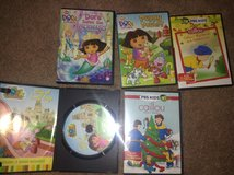 Dora & Caillou DVDs in Westmont, Illinois
