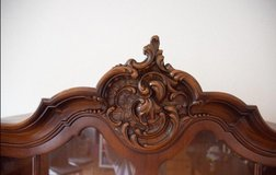 Antique china cabinet in Spangdahlem, Germany