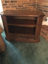 Solid oak console in Leesville, Louisiana