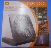 "(# 31) Cool by Design 10"" Portable Fan (New) in The Woodlands, Texas"