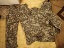 Acu improved rain suit in Fort Campbell, Kentucky
