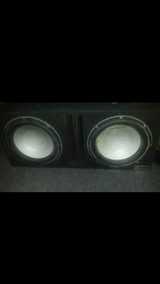 Infinity 12s and custom ported box in Fort Lewis, Washington