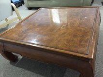 Japanese Square Dining Table/Coffee Table in Plainfield, Illinois