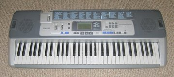 Casio LK-100 Key Lighting System Electronic Midi Keyboard in Plainfield, Illinois