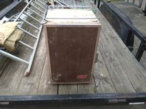 Vintage Colman cooler in Fort Campbell, Kentucky