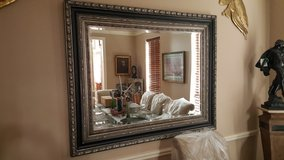 CLASSIC ITALIAN LARGE BEVELED WALL MIRROR IN EXCELLENT CONDITION in Kingwood, Texas