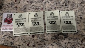 Chicago Wolves Hockey Tickets(4) in Aurora, Illinois