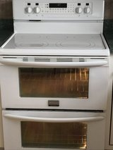 Ceramic cooktop  double oven electrical range in Bolingbrook, Illinois