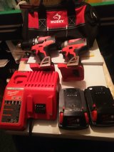 Set of 18v Brushless motor Milwaukee tools in Fort Campbell, Kentucky